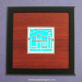 House Small Decorative Wood Box
