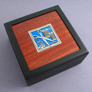 Sewing Small Decorative Wood Box
