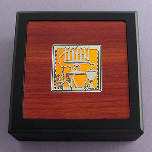 Kwanzaa Small Handcrafted Wooden Box