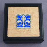 Fleur De Lis Small Decorative Wooden Boxes
