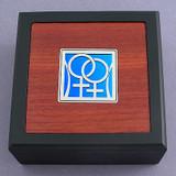Lesbian Small Decorative Wooden Box