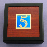 Fifth Anniversary Small Decorative Wooden Box