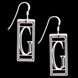 Monogram Letter G Earrings