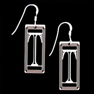 Monogram Letter T Earrings