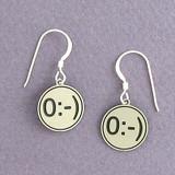 Angel Emoticon Earrings