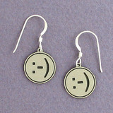 Smiley Face Emoticon Earrings