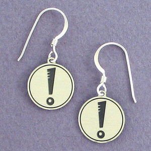 Exclamation Point Earrings