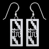 Hebrew Chai Earrings