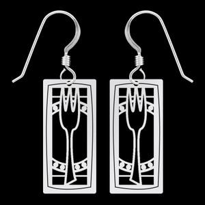 Fork & Plate Earrings