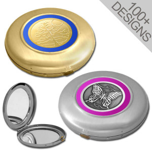 Decorative Compact Mirrors for Purse