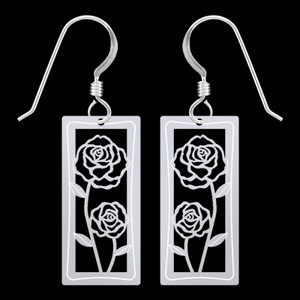 Rose Earrings