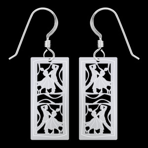 Ballroom Dance Earrings