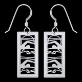 Swimmer Earrings