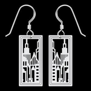 City Skyline Earrings