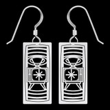 Retro TV Earrings