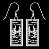 Suspension Bridge Earrings