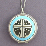 Holy Cross Photo Locket