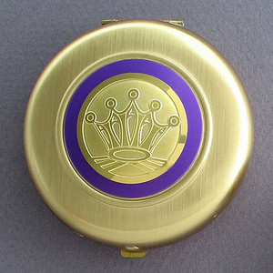 Crown Compact Mirrors - Round