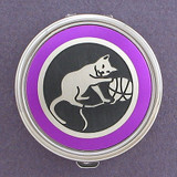 Kitten Pill Case - Round