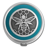 Bee Pill Case - Round