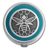 Bee Pill Case - Round