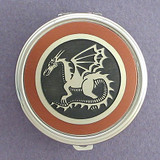 Dragon Pill Case - Round