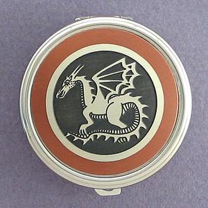 Dragon Pill Case - Round