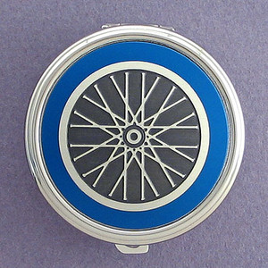 Cyclist Pill Case - Round