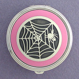 Spider Pill Case - Round