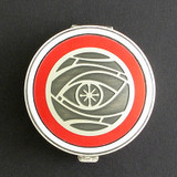 Eye Design Pill Case - Round