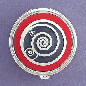 Spiral Pill Case - Round