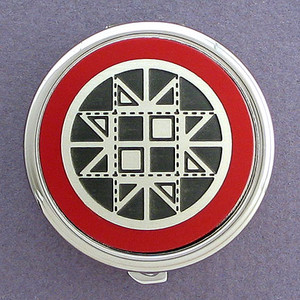 Quilter Pill Case - Round