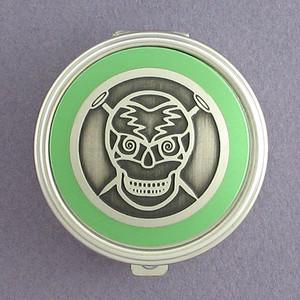 Skull Pill Case - Round