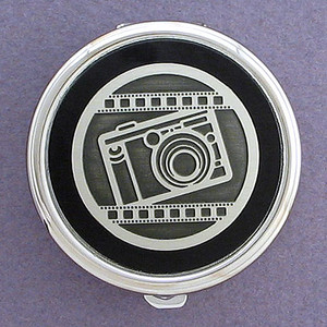 Photographer Pill Case - Round