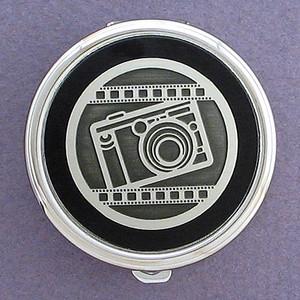 Photographer Pill Case - Round