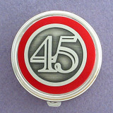 Number 45 Pill Case - Round