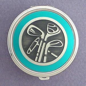Golf Pill Case - Round
