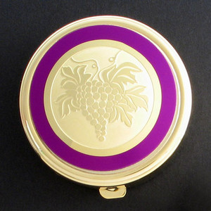 Grapes Pill Case - Round