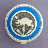 Rabbit Pill Case - Round