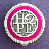 Hope Pill Case - Round