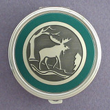 Moose Pill Case - Round