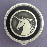 Unicorn Pill Case - Round