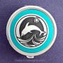 Dolphin Pill Case - Round
