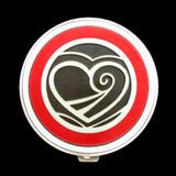 Valentine Heart Pill Case - Round