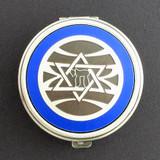 Jewish Pill Case - Round
