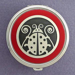Ladybug Pill Case - Round