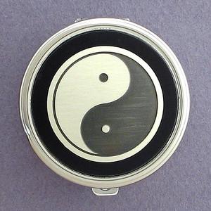 Yin Yang Pill Case - Round