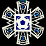 Blue & Green Soccer Ornament
