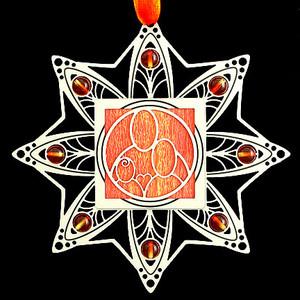 Orange & Tangerine Ornament