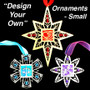 Personalized Christmas Ornaments - Choose Design